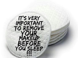 Don't Sleep With Makeup On