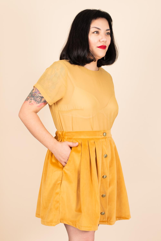 Tuesday-Bassen-Yellow-Scout-Skirt