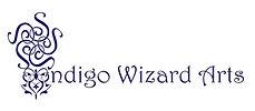 Indigo Wizard Arts logo with words