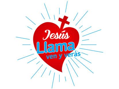 Lema y logo 2018: Jesús llama, ven y verás