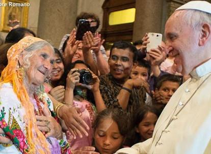 Oramos junto con el Papa – Febrero 2017
