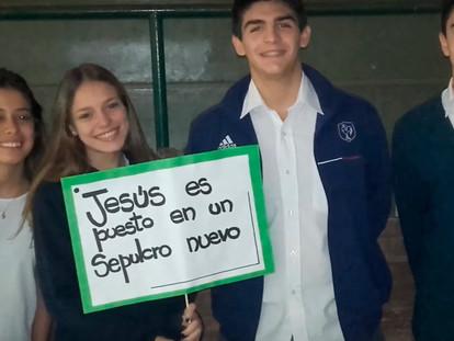 Vía Crucis de la cruz de los jóvenes en Buenos Aires