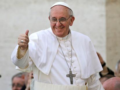 Oramos junto con el Papa – Enero 2017