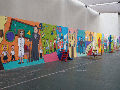Montevideo: Un mural que da vida