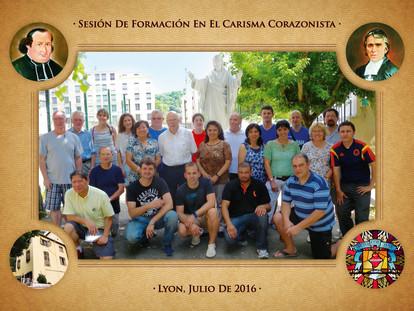 Sesión internacional de formación en el Carisma Corazonista I