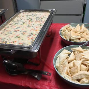 2019-11-16 Birthday Luncheon Chicken Pot