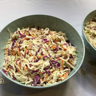 Fall Wedding Buffet Coleslaw