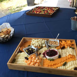2019-09-21 Wedding Hors d'oeuvre Table (
