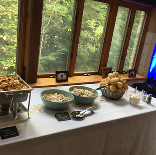 Fall Wedding Buffet 2