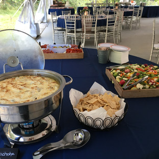 2019-09-21 Wedding Hors d'oeuvre Table.J