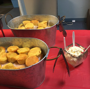 2019-11-16 Birthday Luncheon Cornbread M