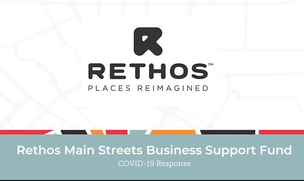 Information Webinar on Applying to the Rethos Main Streets Support Fund