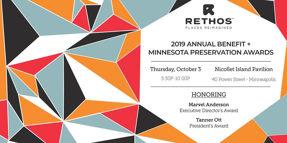 2019 Annual Benefit + Minnesota Preservation Awards