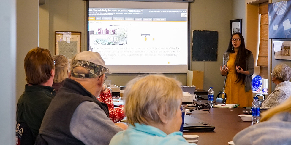 OTTER TAIL COUNTY VIRTUAL STORY MAPPING WORKSHOP