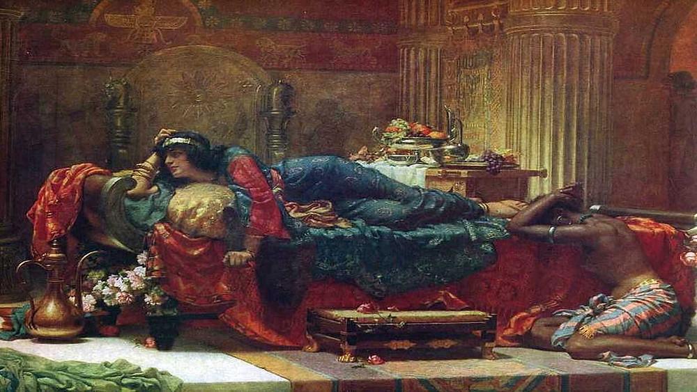 Queen Vashti deposed, Ernest Normand,1890