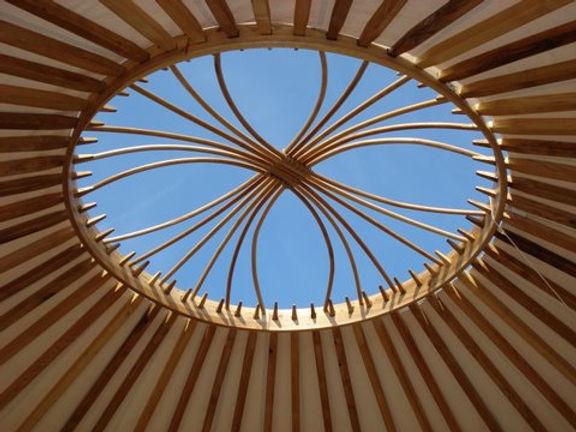 Yurt crown blue sky.JPG