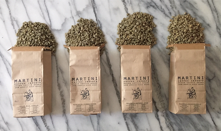 Unroasted Original Sampler Pack - Green Cof 4LBS - 100% raw arabica coffee beans