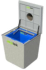 Ekotek Sistem Yeraltı çöp Konteyner Sistemi