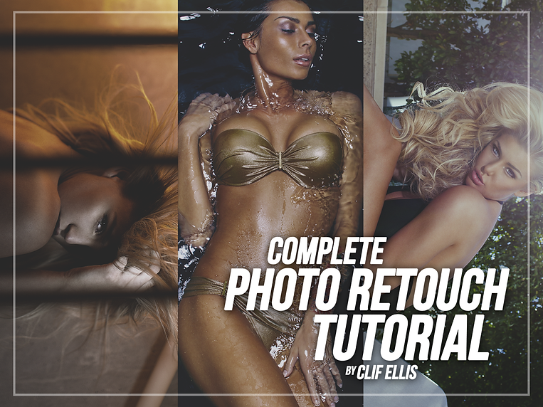 CLIF ELLIS PHOTO RETOCUH TUTORIAL