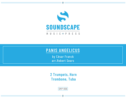 Panis Angelicus for Brass Quintet by Cesar Franck, arr. Robert Sears