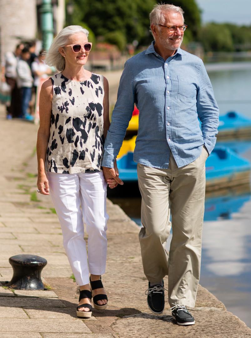 Alan Jones and Janey