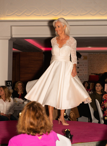 Gok Wan Fashion Show |Senior Bride Outfit
