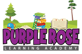 Purple Rose Logo Learning Academy png.pn