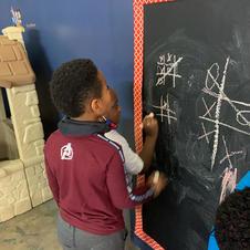 Chalk Board Game time