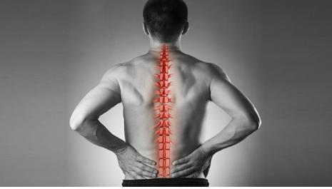 Crujidos en la columna vertebral