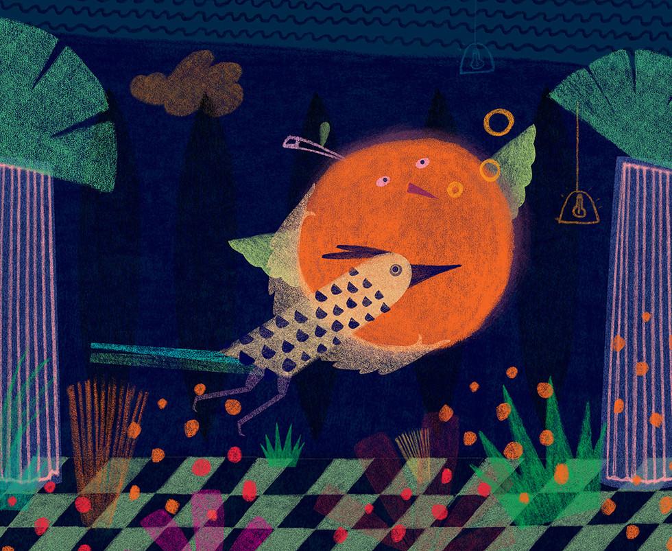 dance-hall-catalina-carvajal-illustrator