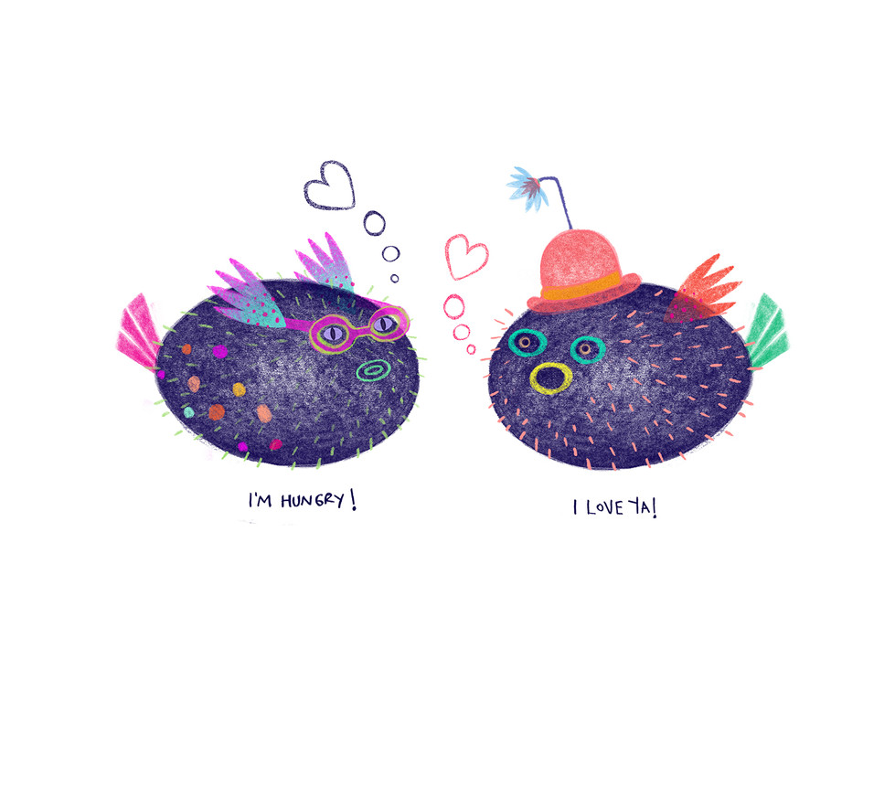 Sea Creatures by Catalina Carvajal