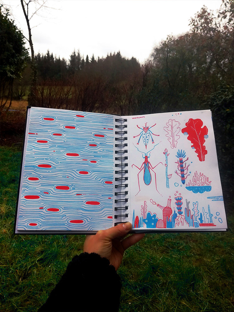 wood-animals-instecs-forest-illustration