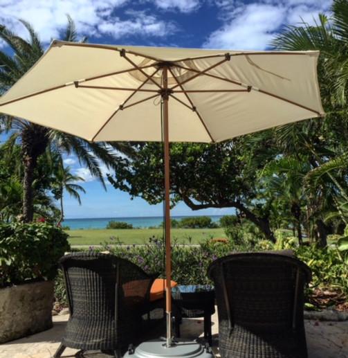 Views from the spa at Jumby Bay Resort