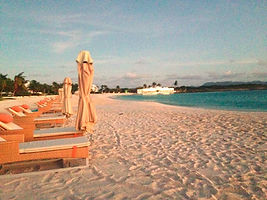 Rooms are steps from this wonderful beach.  Elli Travel Group is a New York based travel agency specializing in luxury travel. How can I upgrade my Anguilla Experience? Through Elli Travel Group, clients receive complimentary amenities. We are proud members of Virtuoso, Rosewood Elite, and Starwood Luxury Privileges.
