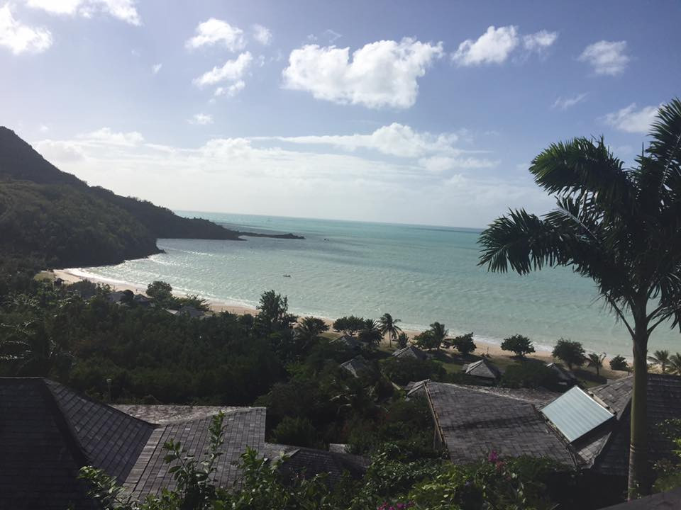 Hermitage Bay Antigua, views from the hillside villas... Elli Travel is a New York Luxury Travel Agency specializing in leisure travel for families, couples & groups.  Proud members of Virtuoso, Four Seasons Preferred, Rosewood Elite, Belmond Bellini Club, Starwood Luxury Privelages and Ritz Carlton Stars