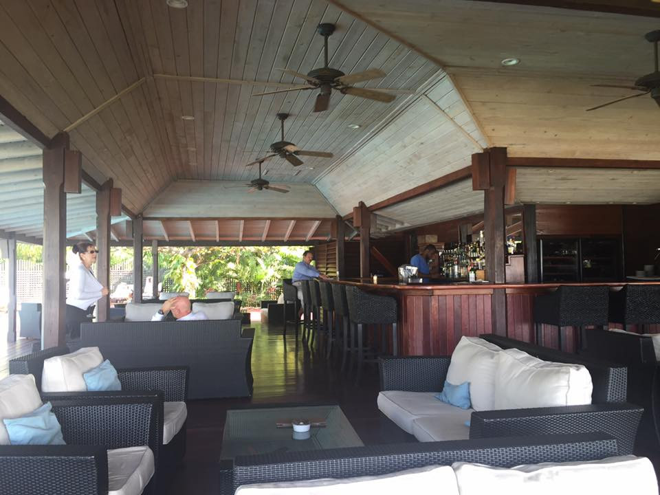 Hermitage Bay beachfront bar....  Elli Travel is a New York Luxury Travel Agency specializing in leisure travel for families, couples & groups.  Proud members of Virtuoso, Four Seasons Preferred, Rosewood Elite, Belmond Bellini Club, Starwood Luxury Privelages and Ritz Carlton Stars