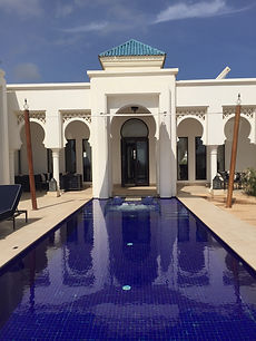 Another view of the private pool at the Banyan Tree Tamouda Bay, Morroco. Elli Travel Group is a New York based travel agency specializing in luxury travel. How can I upgrade my Banyan Tree Tamouda Bay Experience? Through Elli Travel Group, clients receive complimentary amenities.  We are proud members of Virtuoso, Rosewood Elite, and Starwood Luxury Privileges.