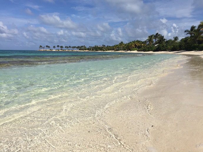 Miles of beaches to explore at the Jumby