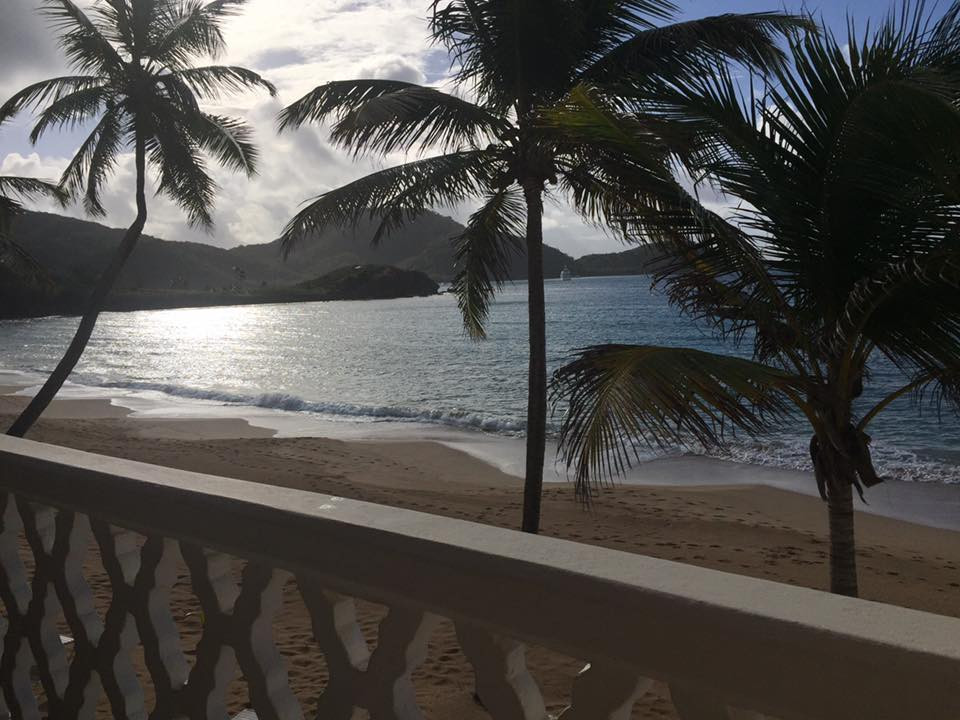 Curtain Bluff Antigua, view from our room.... Elli Travel is a New York Luxury Travel Agency specializing in leisure travel for families, couples & groups.  Proud members of Virtuoso, Four Seasons Preferred, Rosewood Elite, Belmond Bellini Club, Starwood Luxury Privelages and Ritz Carlton Stars