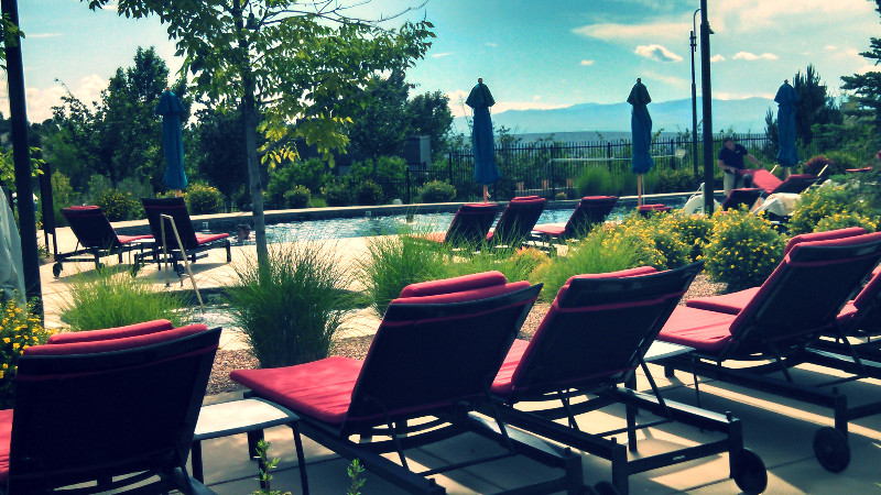 Four Season Santa Fe, Relax poolside after a day's long adventure. Elli Travel is a Larchmont based Travel Agency.  Rye Travel Agency, Scarsdale Travel Agency, Bronxville Travel Agency,