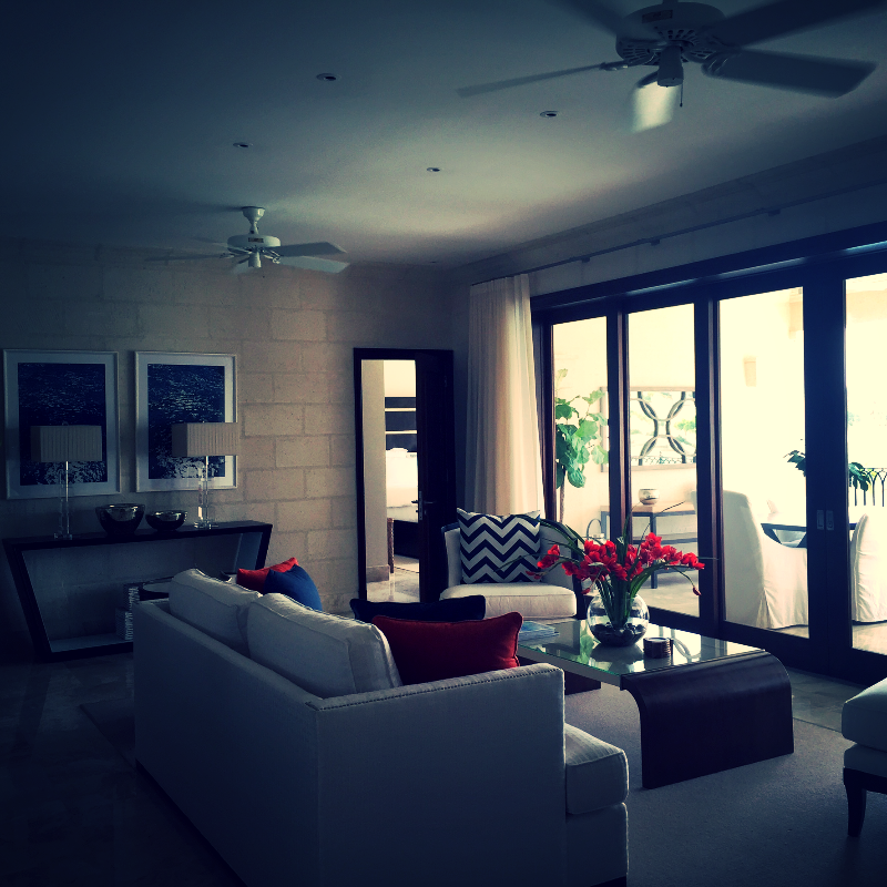 Villas living room made for family fun. Port Ferdinand Villas in Barbados... Elli Travel Group is a Westchester based Travel Agency.  A Four Seasons Preferred, Rosewood Elite & Virtuoso Member.