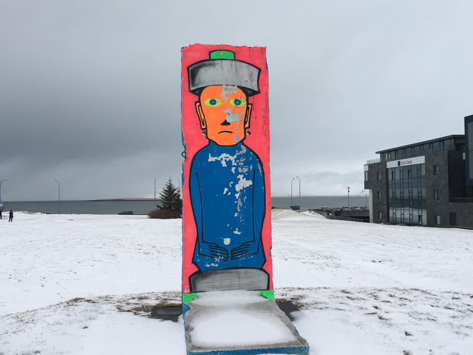 A piece of the Berlin Wall in Iceland.....  Elli Travel is a New York Luxury Travel Agency specializing in leisure travel for families, couples & groups.  Proud members of Virtuoso, Four Seasons Preferred, Rosewood Elite, Belmond Bellini Club, Starwood Luxury Privelages and Ritz Carlton Stars