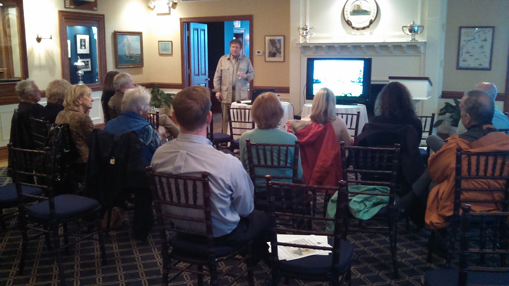 Safari Presentation at the Larchmont Yacht Club