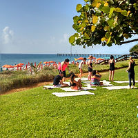 Four Seasons Palm Beach, complimentary beach yoga. Elli Travel Group is a New York based travel agency specializing in luxury travel. How can I upgrade my Four Seasons Hotel Experience? Through Elli Travel Group's Virtuoso Membership clients receive complimentary amenities.  We are proud members of Virtuoso, Rosewood Elite, and Starwood Luxury Privileges.