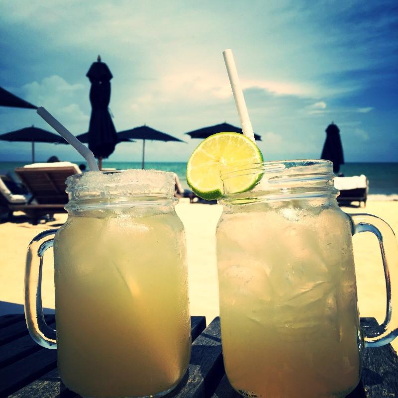 Rosewood Mayakoba Beach Side Margarita