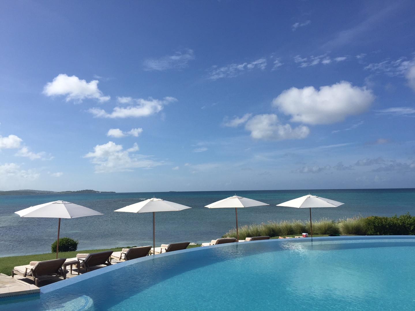 Jumby Bay Infinity Pool...  Let Elli Tra