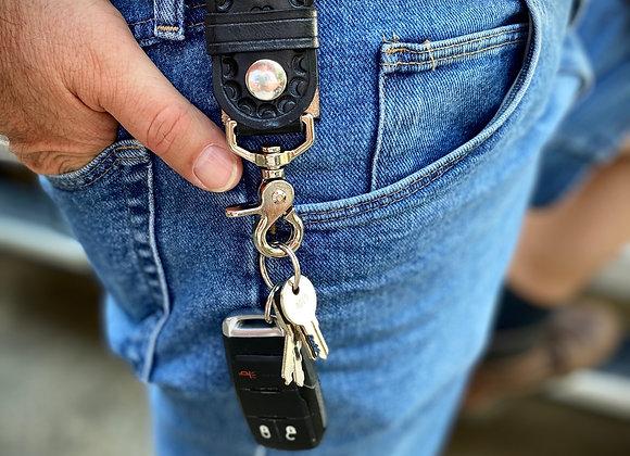 Belt Keeper Keychain