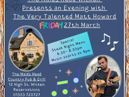 An evening with Matt Howard