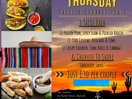 Thursday 20th Feb #MealDeal for Two