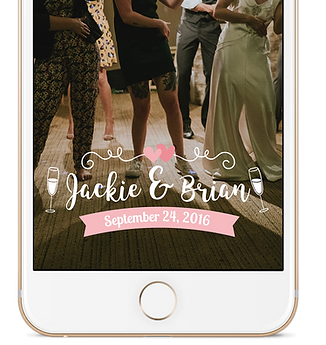 Basic Wedding Geo-Filter